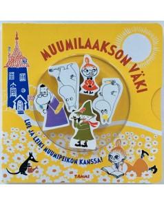 Muumilaakson väki (board book with figurines)