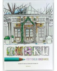 Turku Coloring Book for Grown-ups